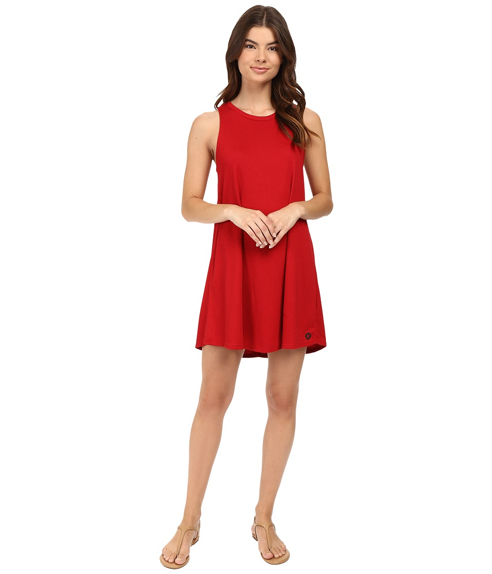 Hurley - Dri-Fit Knit Dress (Gym Red) Women's Dress