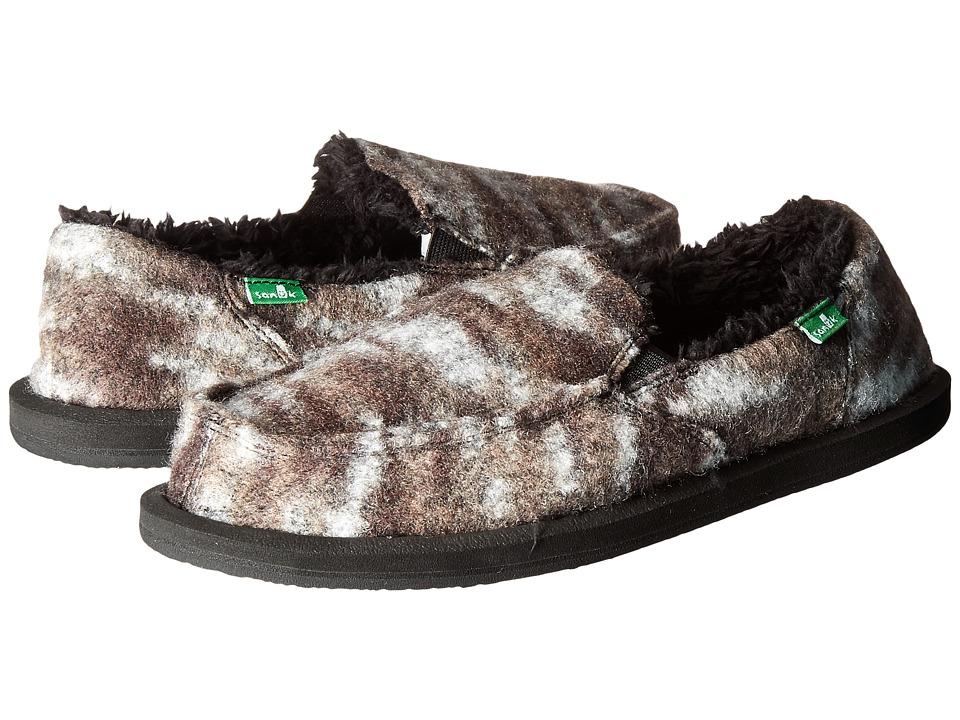 Sanuk - Calichill (Black) Women's Slip on Shoes