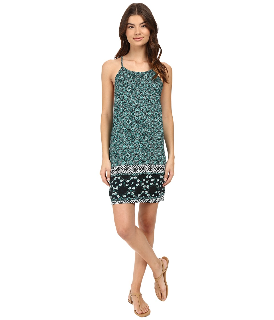 Hurley Isadora Woven Dress (Rio Teal) Women