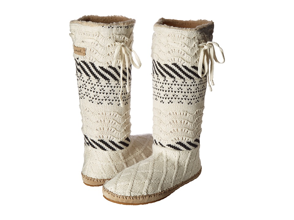 Sanuk Snuggle Up LX (Natural Sweater) Women