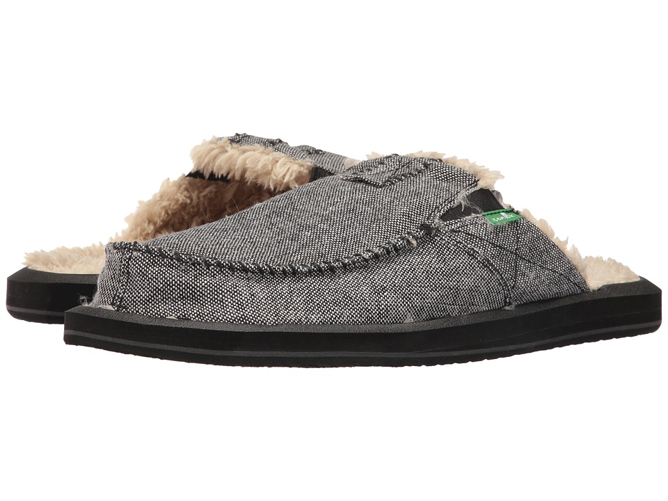 Sanuk - You Got My Back II Chill (Charcoal Wool Fleck) Men's Slip on Shoes