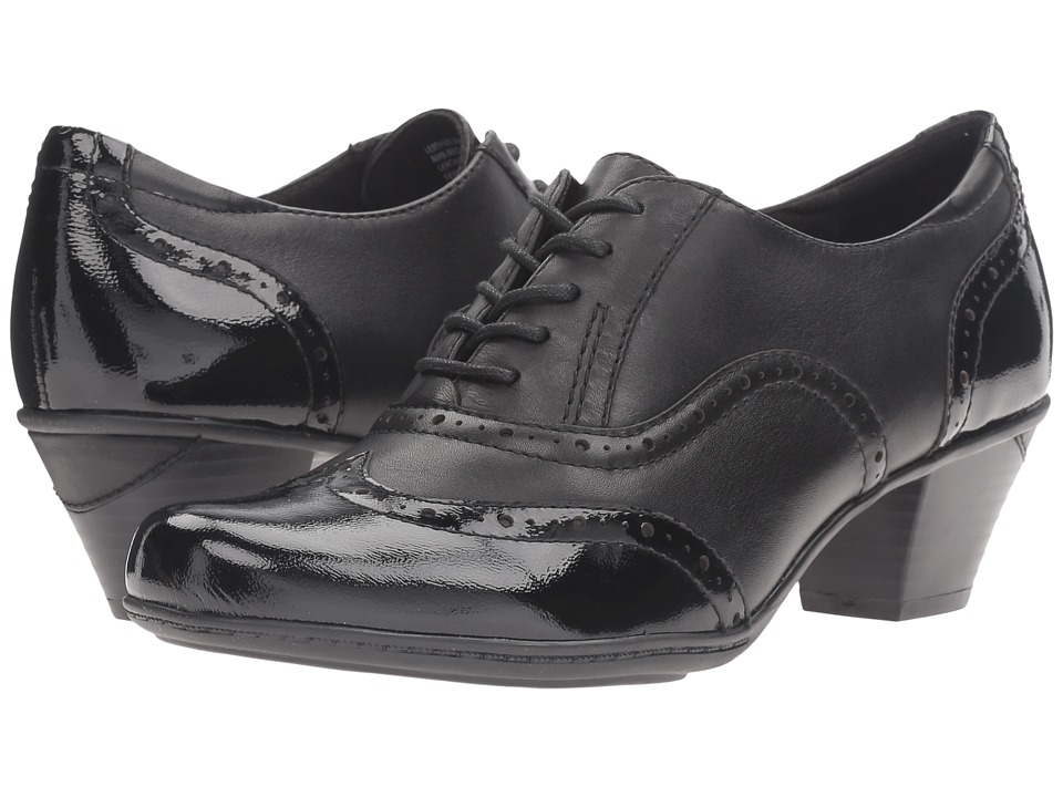 Earth Fennel (Black Crinkled Patent) Women