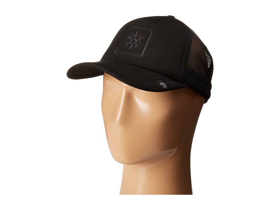 Mountain Hardwear - MHW Trucker Hat (Black) Caps