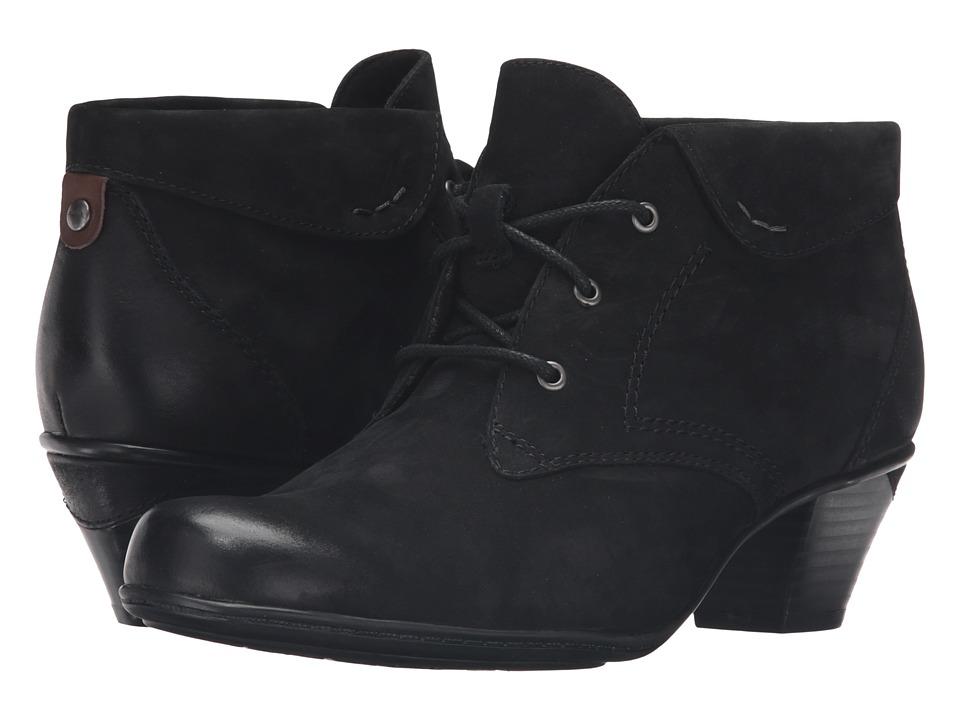 Earth - Teak (Black Soft Buck) Women's Boots