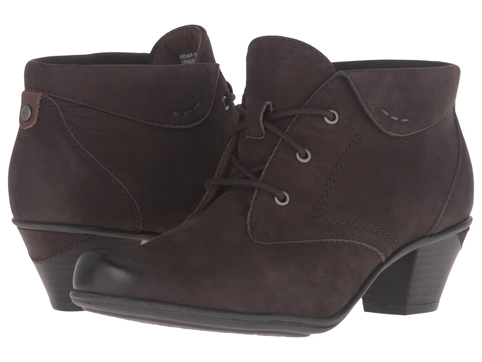 Earth - Teak (Dark Brown Soft Buck) Women's Boots