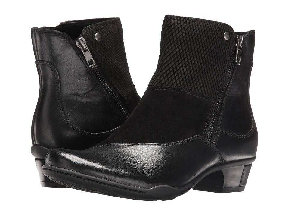Earth Orion (Black Full Grain Leather) Women