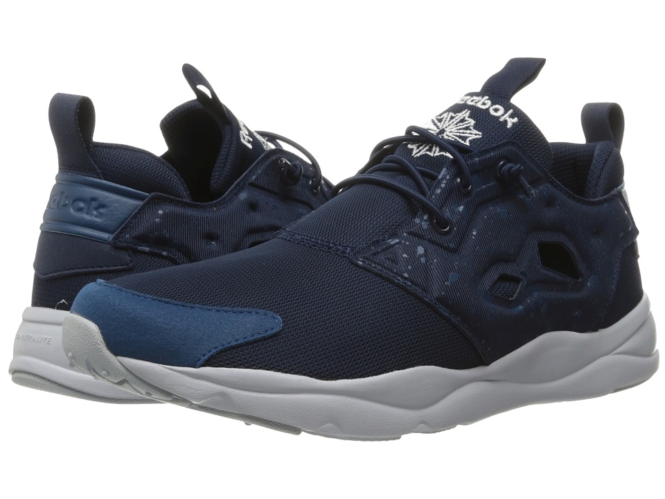 Reebok Lifestyle - Furylite SP (Collegiate Navy/Noble Blue/Cloud Grey/White) Men's Shoes
