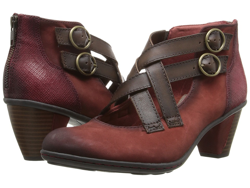Earth - Amber (Brick Soft Buck) Women's Shoes
