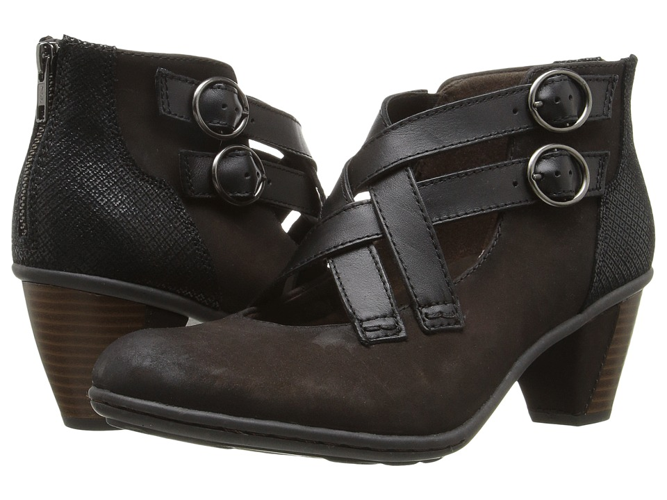 Earth - Amber (Dark Brown Soft Buck) Women's Shoes