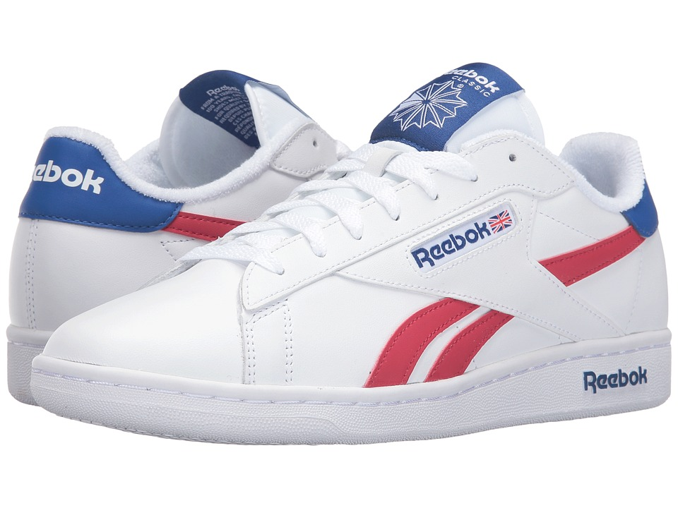 Reebok Lifestyle - NPC UK Retro (White/Collegiate Royal/Excellent Red) Men's Shoes