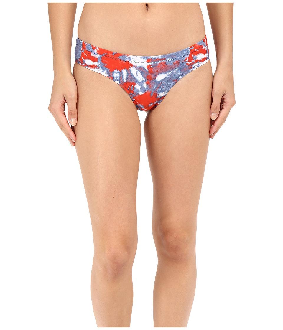 Volcom - Liberty Cheeky Bottom (Blue Drift Wash) Women's Swimwear
