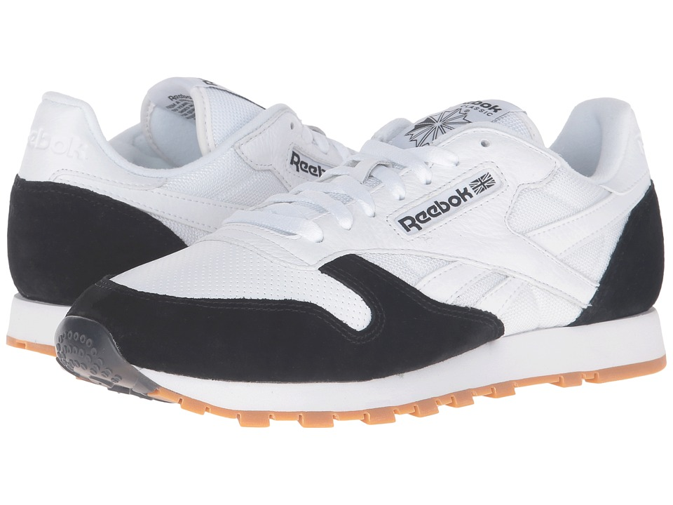 Reebok - Classic Leather SPP (White/Black/Gum) Men's Shoes
