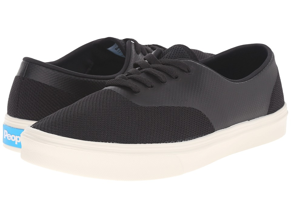 People Footwear - Stanley - 3D Mesh w/ EVA (Really Black/Picket White) Lace up casual Shoes