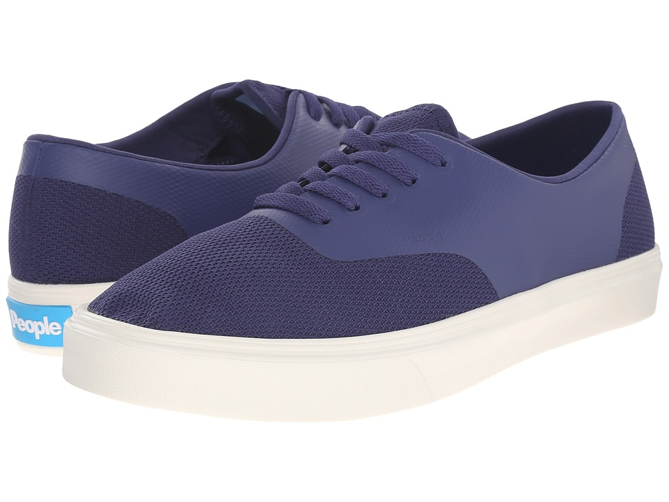 People Footwear - Stanley - 3D Mesh w/ EVA (Mariner Blue/Picket White) Lace up casual Shoes