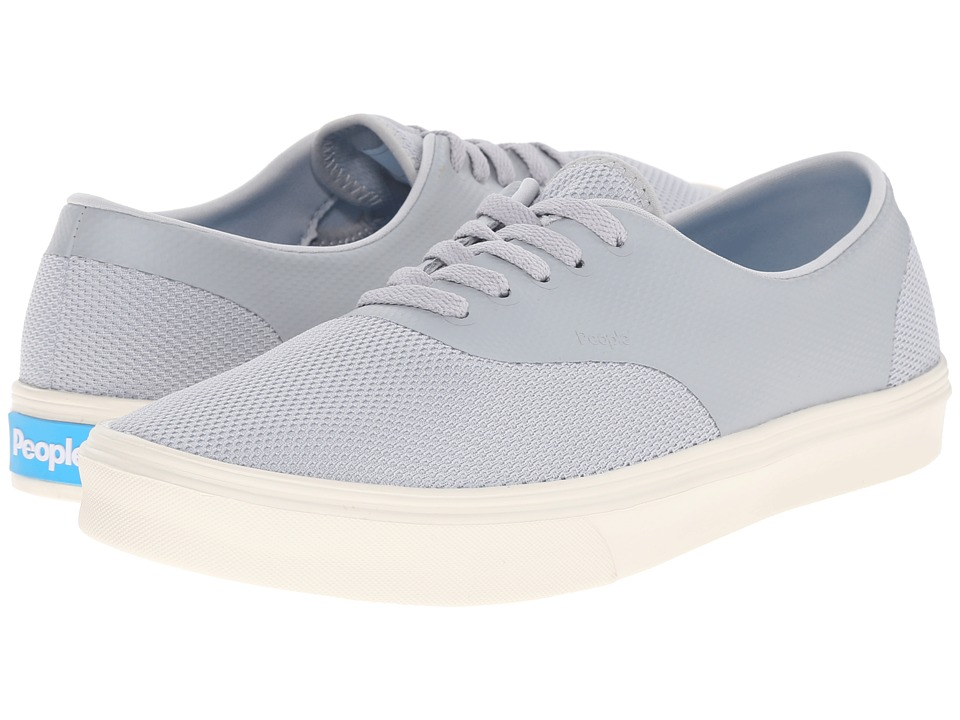 People Footwear - Stanley - 3D Mesh w/ EVA (Skyline Grey/Picket White) Lace up casual Shoes