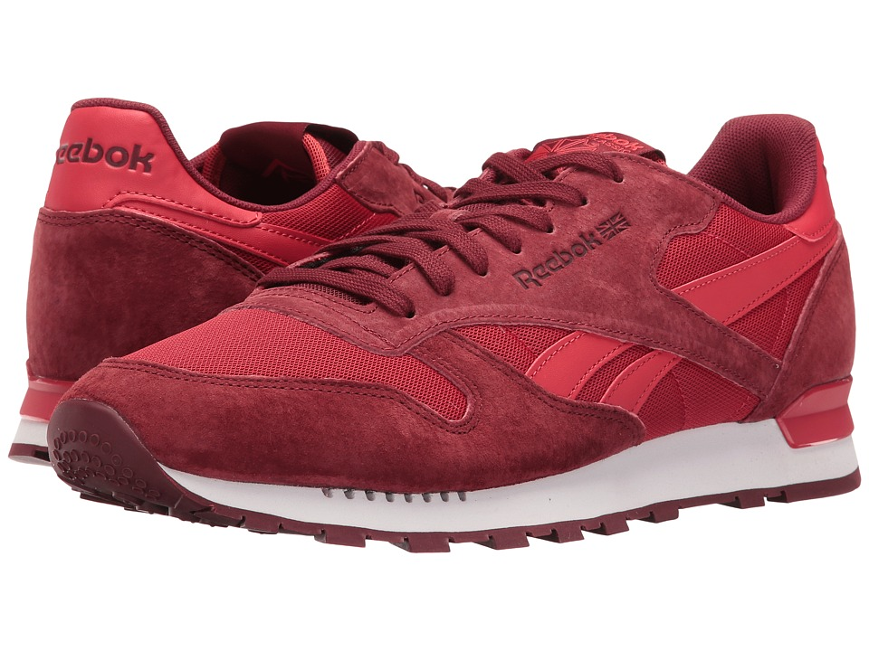 Reebok Lifestyle - Classic Leather Clip ELE (Flash Red/Merlot/Terracota) Men's Shoes