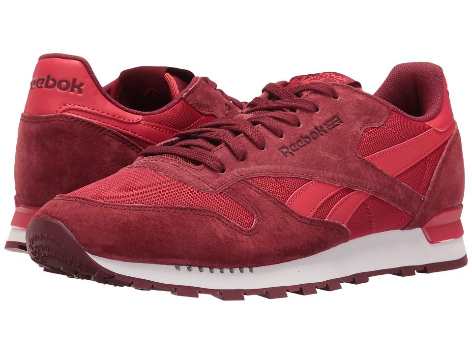 Reebok Lifestyle - Classic Leather Clip ELE (Flash Red/Merlot/Terracota) Men's Shoes