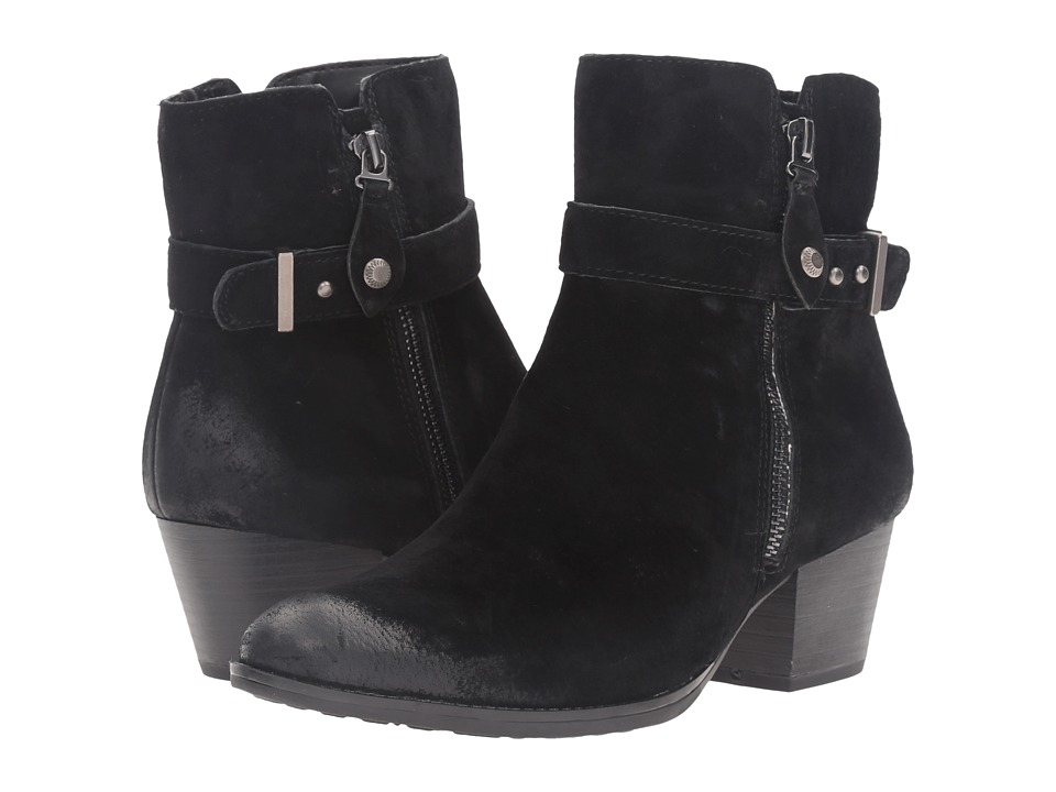 Earth - Royal Water Resistant (Black Suede) Women's Boots