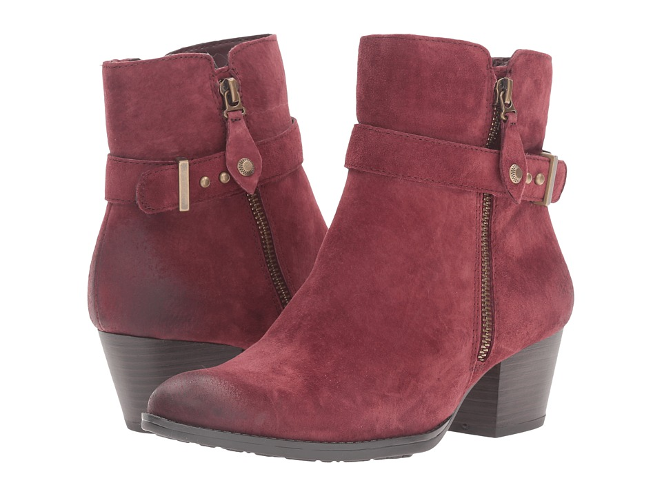 Earth - Royal Water Resistant (Wine Suede) Women's Boots