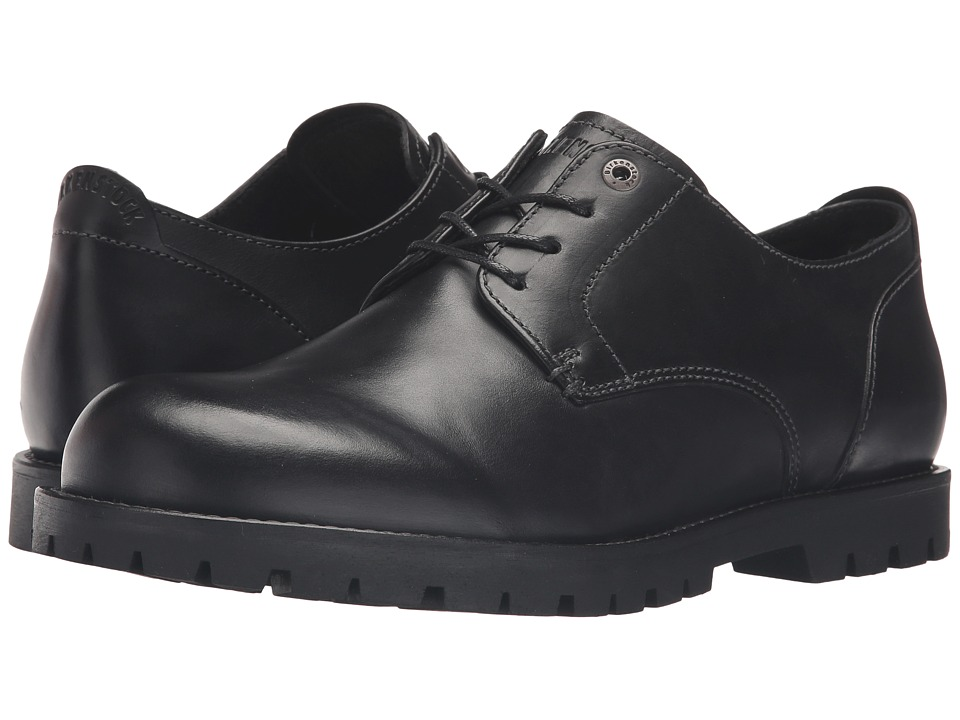 Birkenstock - Gilford (Black Leather) Men's Lace up casual Shoes