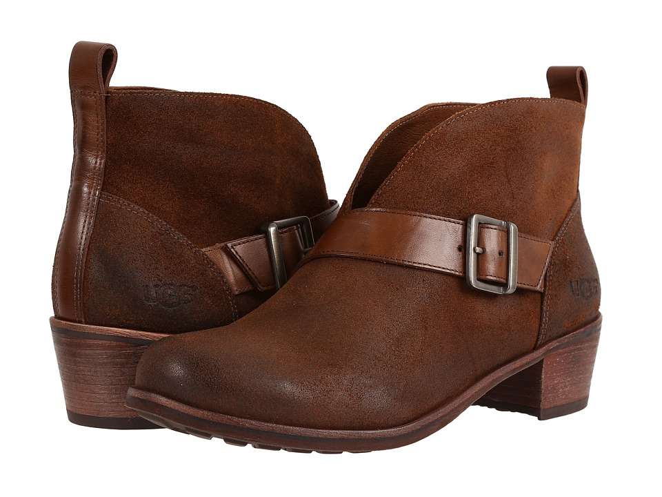 UGG Wright Belted (Chestnut) Women