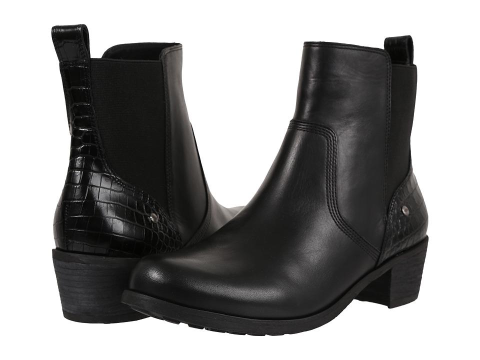 UGG - Keller Croco (Black) Women's Boots