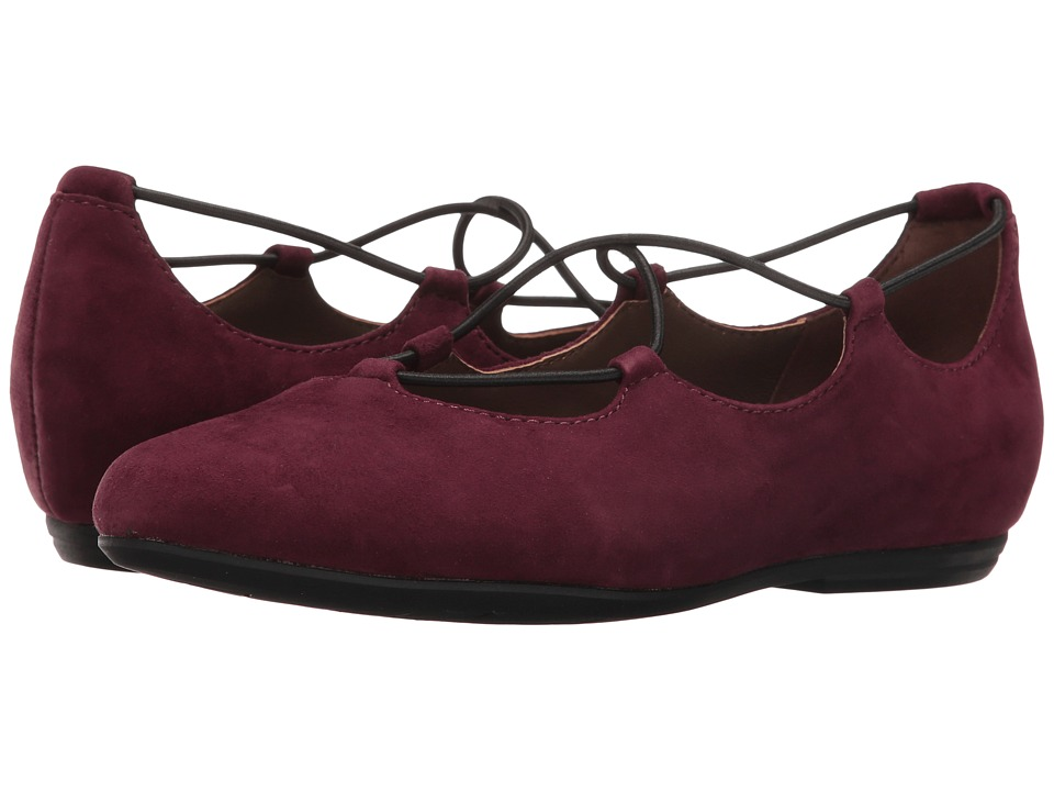 Earth - Essen Earthies (Prune Suede) Women's Flat Shoes