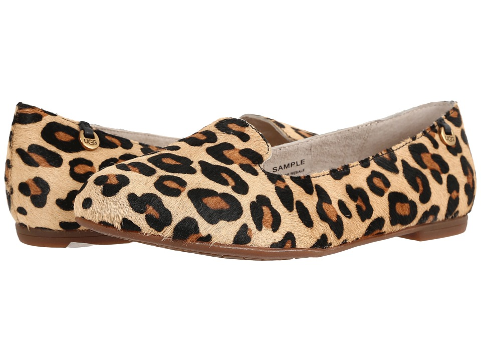 UGG - Blyss Calf Hair Leopard (Chestnut Leopard) Women's Flat Shoes