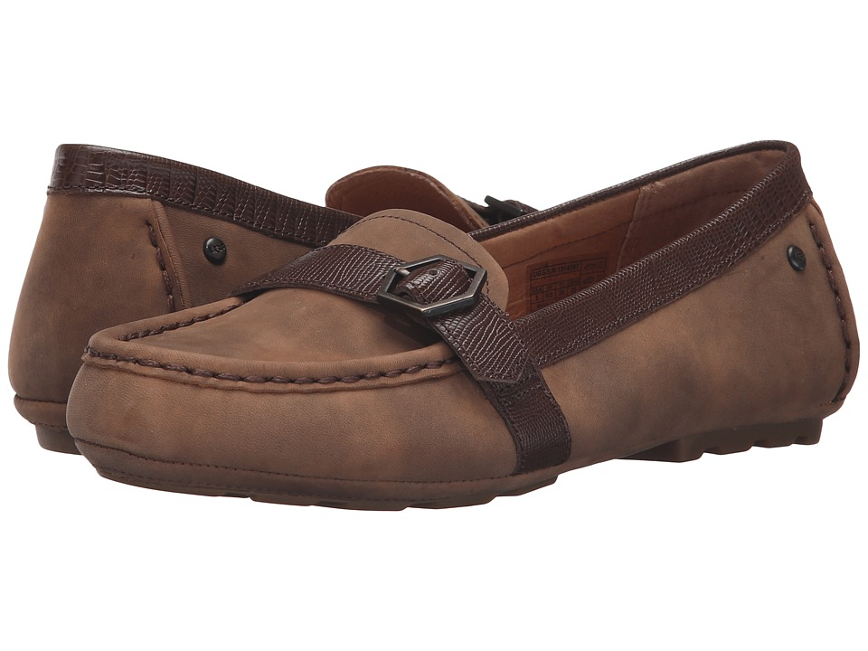UGG - Gwynith (Chocolate) Women's Flat Shoes