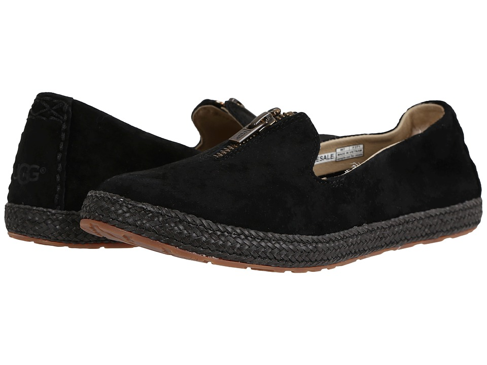 UGG - Selarra (Black) Women's Slip on Shoes