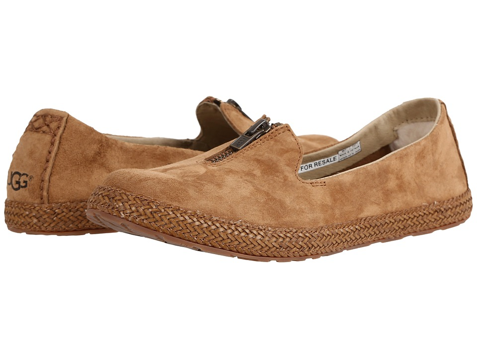 UGG - Selarra (Chestnut) Women's Slip on Shoes