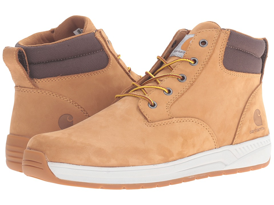 Carhartt - 4 Lightweight Wedge Boot (Wheat Oil Tanned Leather) Men's Work Boots