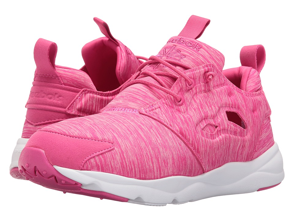 Reebok Lifestyle - Furylite Jersey (Rose Rage/White) Women's Shoes