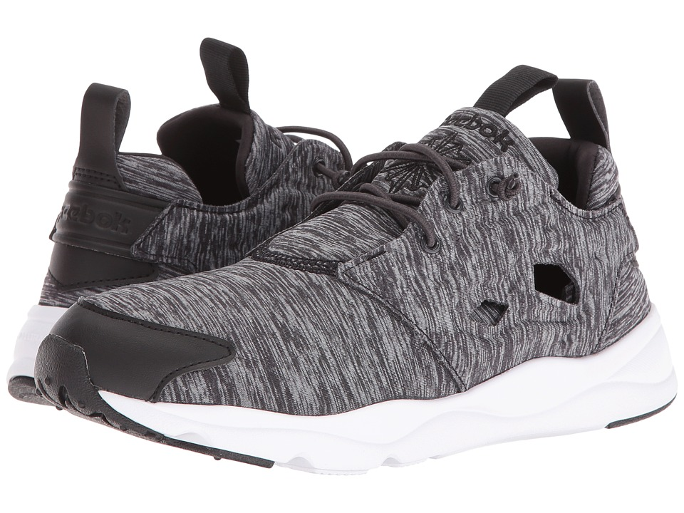 Reebok Lifestyle - Furylite Jersey (Black/White) Women's Shoes