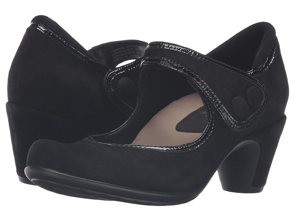 Earth - Lucca Earthies (Black Suede) Women's Maryjane Shoes