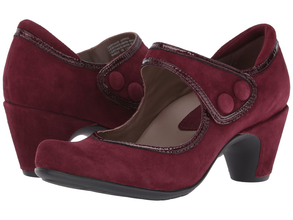 Earth - Lucca Earthies (Burgundy Suede) Women's Maryjane Shoes