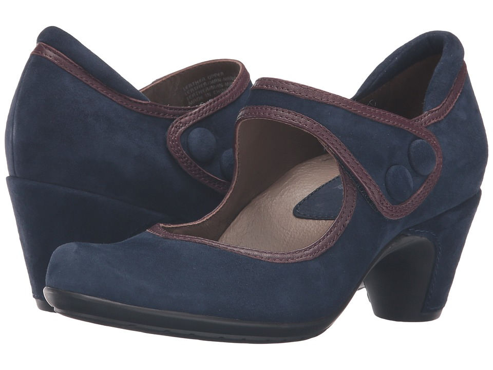 Earth - Lucca Earthies (Navy Suede) Women's Maryjane Shoes