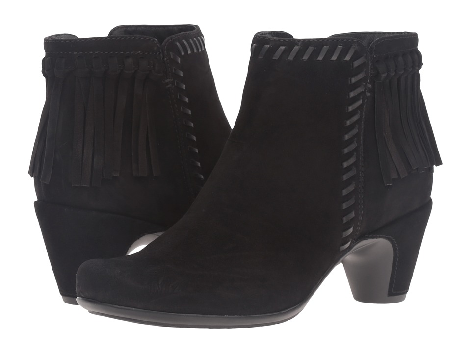 Earth - Zurich Earthies (Black Suede) Women's Zip Boots