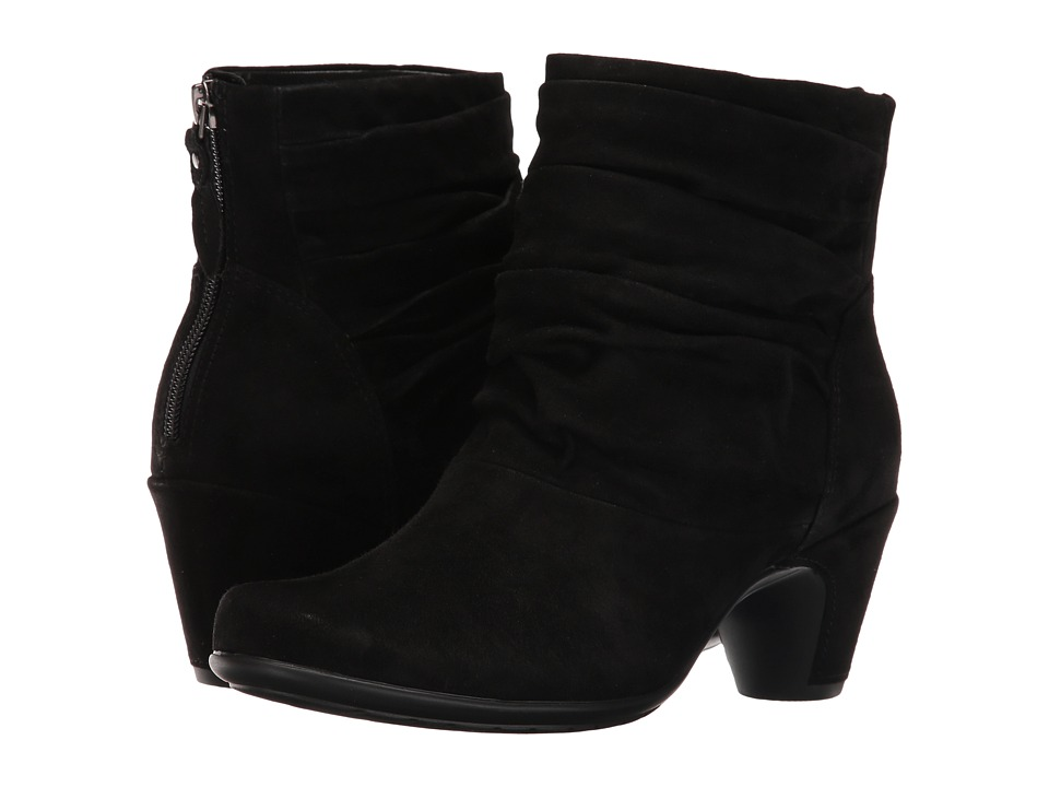 Earth Vicenza Earthies (Black Suede) Women