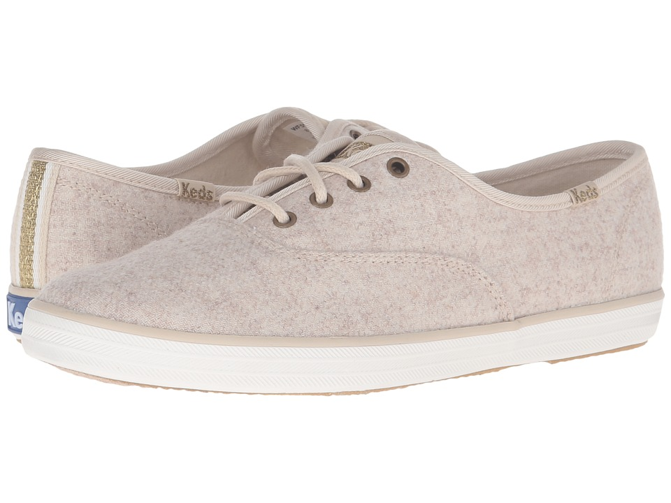 Keds Champion Wool (Oatmeal) Women