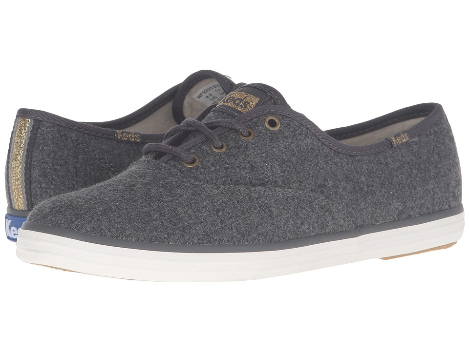 Keds Champion Wool (Charcoal) Women