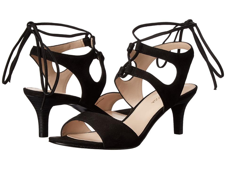 Pelle Moda - Bern (Black Nubuck) High Heels