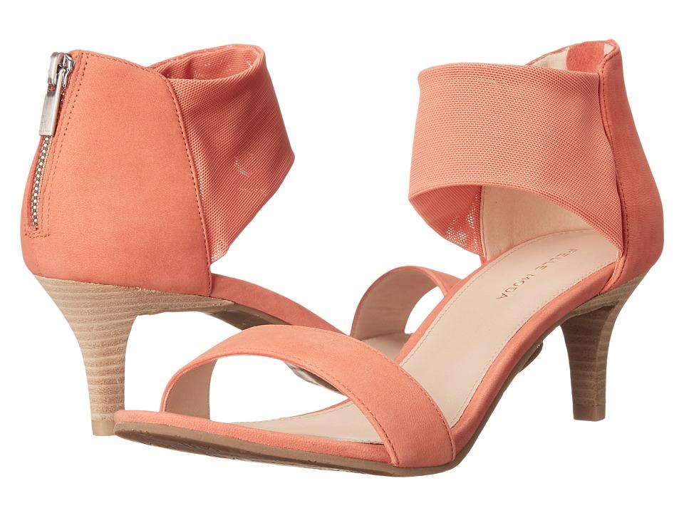 Pelle Moda - Eden (Floral Nubuck/Stretch Mesh) High Heels