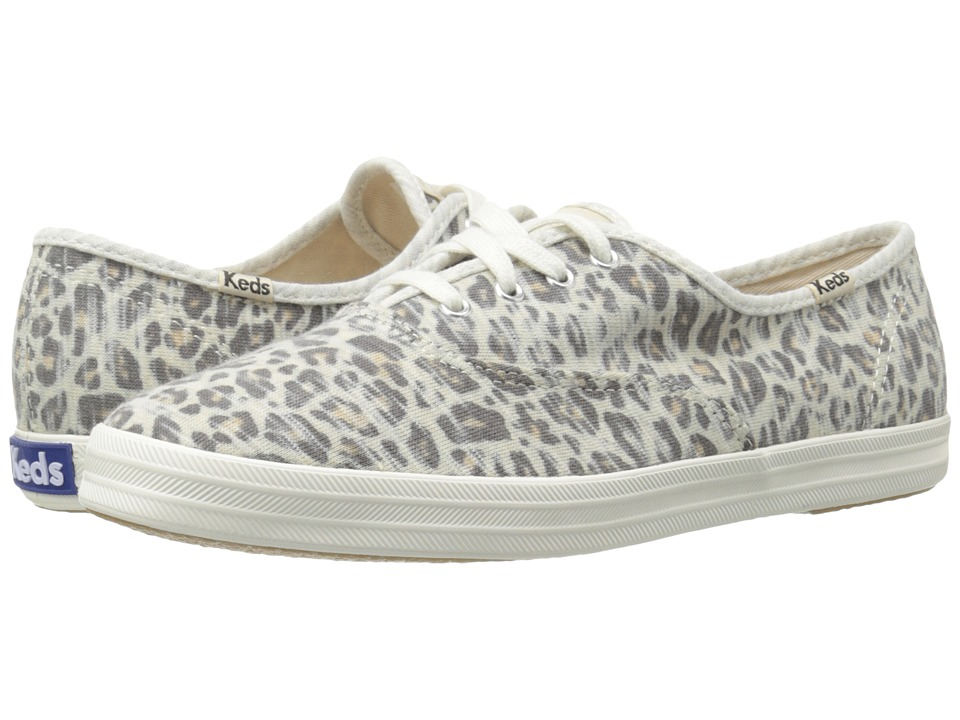 Keds - Champion Jersey Leopard (Leopard) Women's Lace up casual Shoes