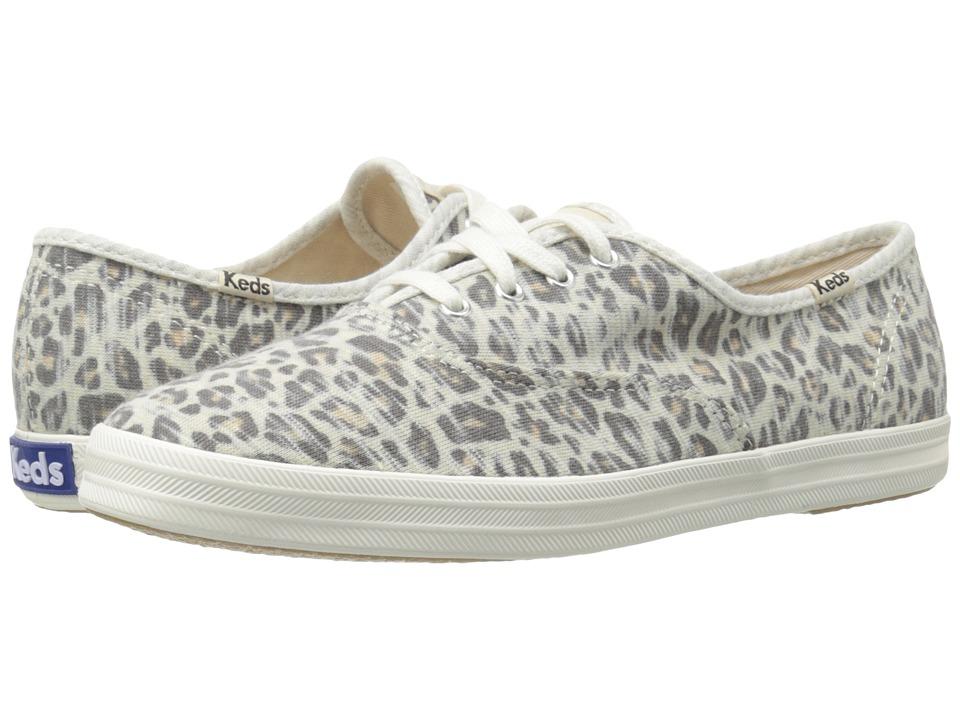 Keds Champion Jersey Leopard (Leopard) Women