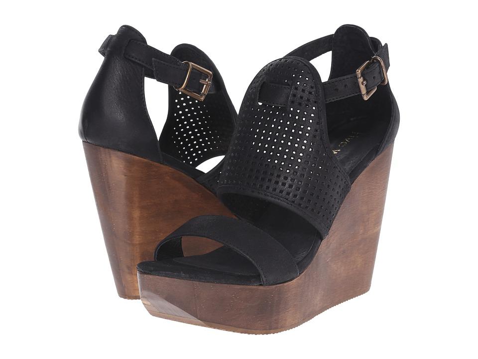 Cordani - Dorado (Black Nubuck) Women's Wedge Shoes