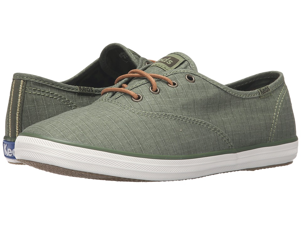 Keds - Champion Ripstop (Olive) Women