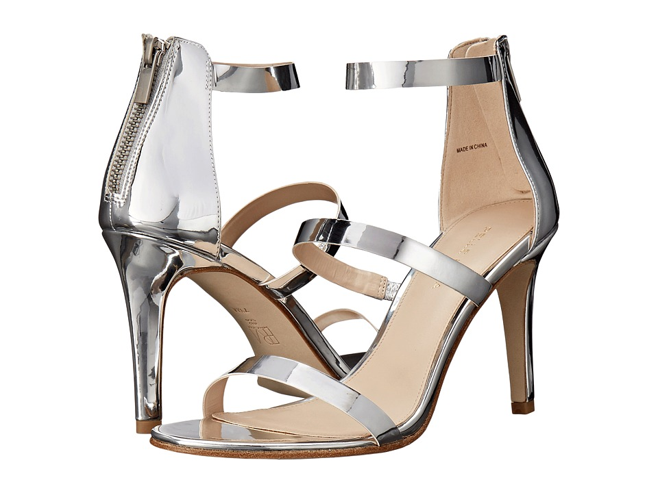 Pelle Moda - Dalia (Silver Mirror) High Heels