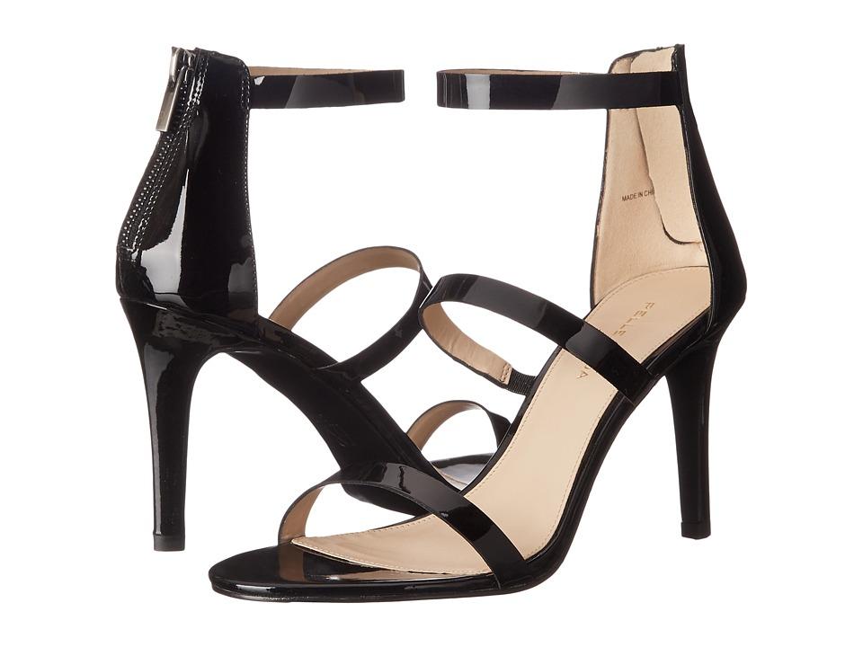 Pelle Moda Dalia (Black Patent) High Heels