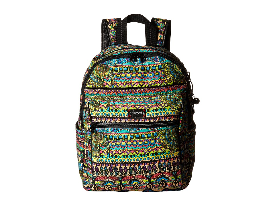 Sakroots - Artist Circle Cargo Backpack (Radiant One World) Backpack Bags